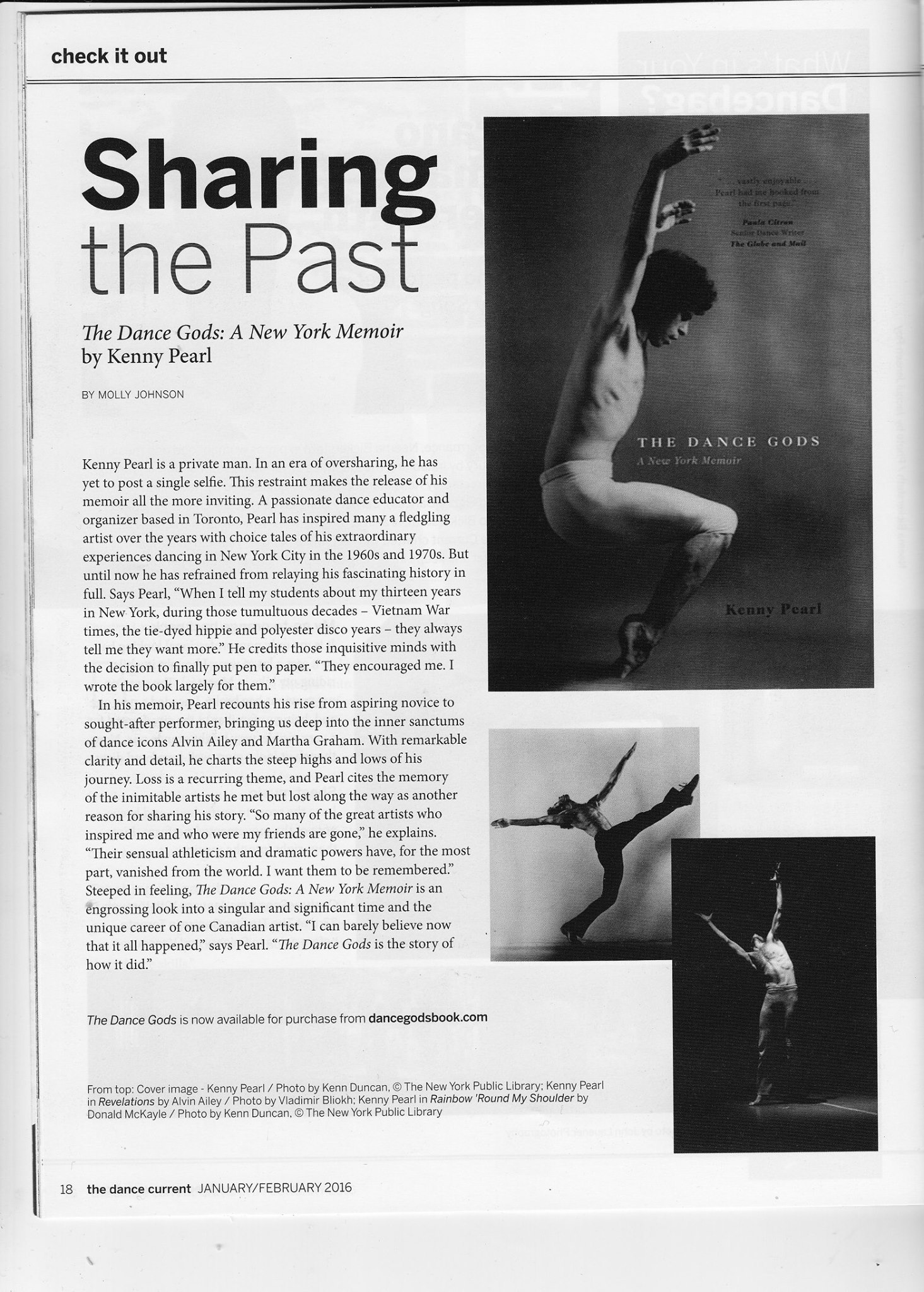 The Dance Current - Dec 2015